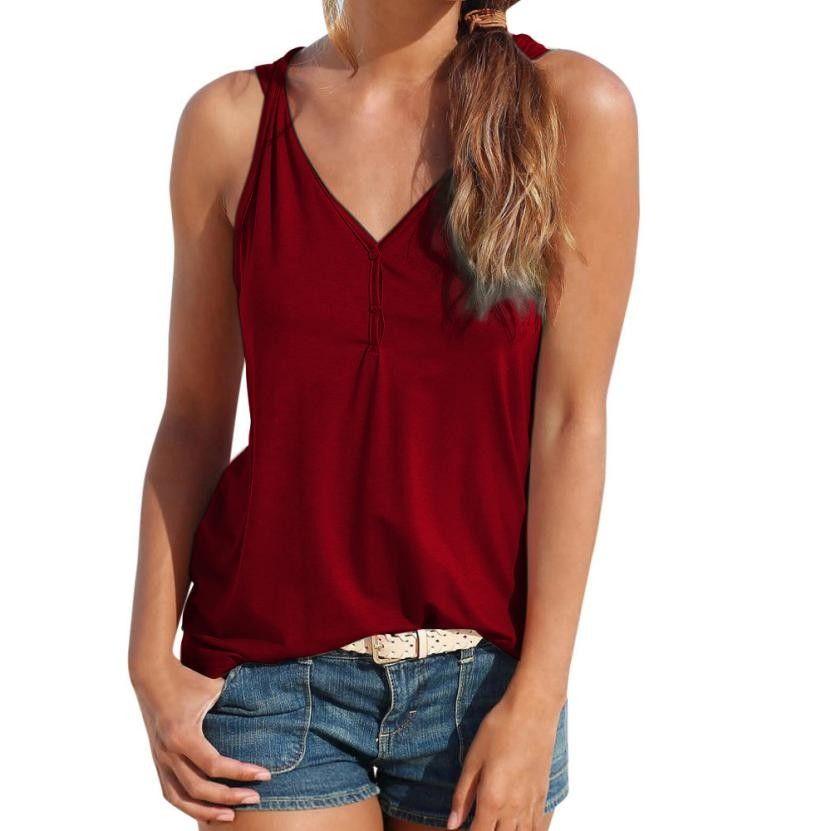 d86df9289582 2019 2018 Women Summer Lace Vest Sleeveless Loose Black Crop Tops ...