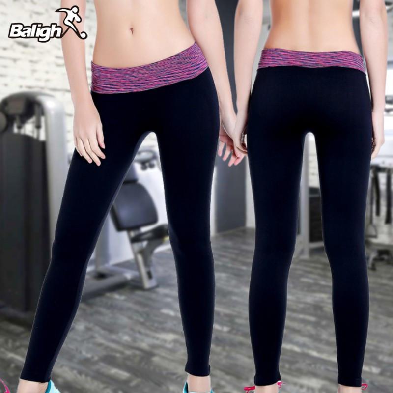 Acheter Pantalons De Yoga Pour Femmes Respirant À Séchage Rapide Running  Collants De Sport Pantalons De Teinture Professionnels De Course À Pied  Moulants De ... 6d7c990008ed