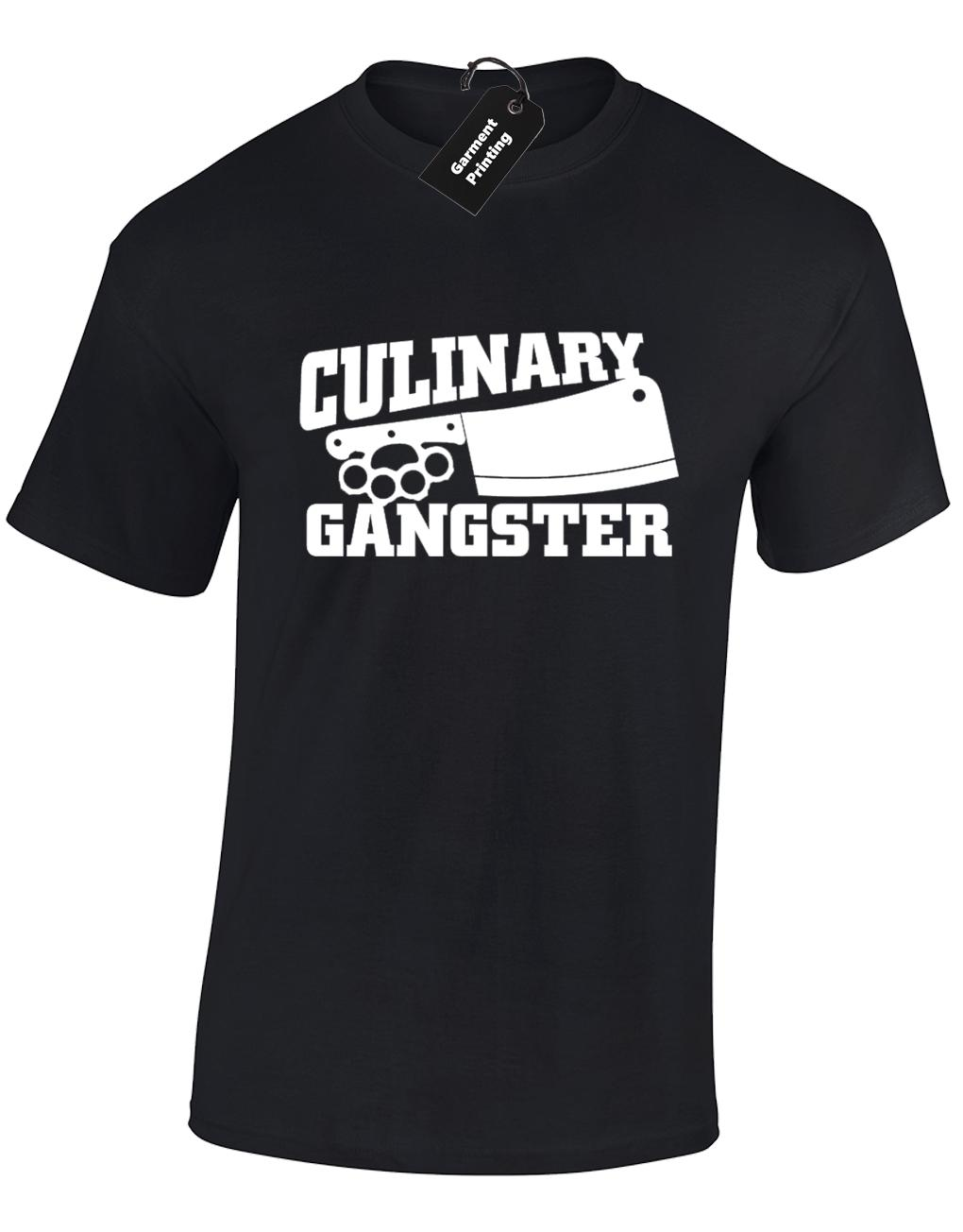 de6c4e534 CULINARY GANGSTER MENS T SHIRT FUNNY CHEF COOK BAKE OFF GIFT INSTAGRAM  TUMBLR Funny Unisex Casual Gift T Shirt Logos Trendy T Shirts From  Superstartees, ...