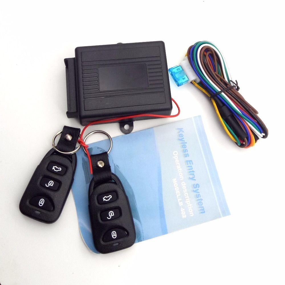 Universal Alarm Systems Car Remote Central Kit Door Lock Locking