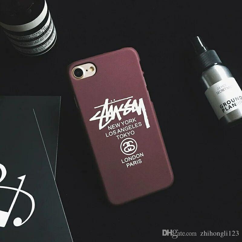 For Iphone 7 8 Marcelo Burlon Cover Tiger Fox Skull Pc Case For