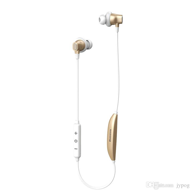 Baseus S03 Bluetooth Auricolare Inear Wireless Intelligent Magnetic Function Auricolare Sport Neckband EarphoneStereo Bass universale telefono
