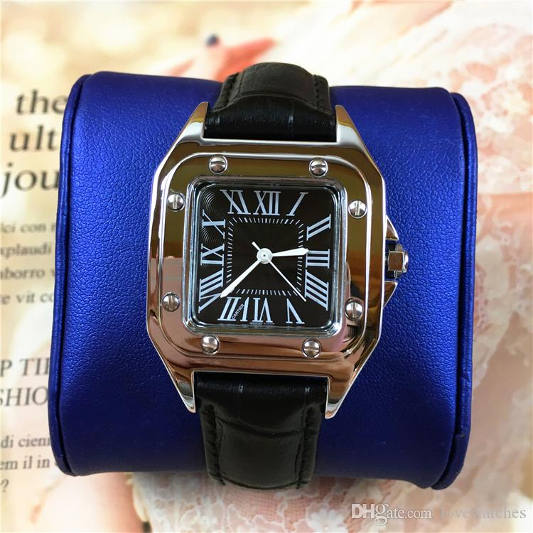 Pink luxury hot sale Women watch Square Dial Face Lady Dress Watch woman Quartz Clock wristwatch Female top quality Relojes De Marca Mujer