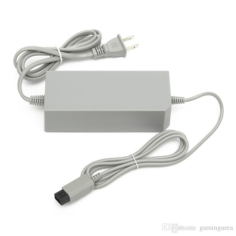 Reemplazo del adaptador de CA adaptador de la fuente de alimentación del adaptador Cable de cargador para Wii Console US UE CLUT DHL FEDEX Free Ship