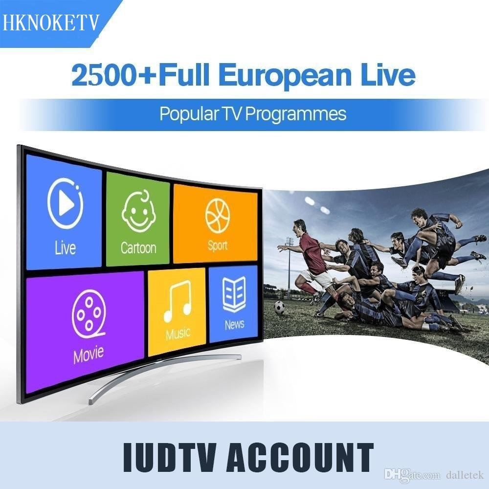 IUDTV IPTV 1 year Subscription M3U APK Europe Swedish Portugal Arabic IPTV  Subscription OVER 2000 Channels USA Sweden French x96mini