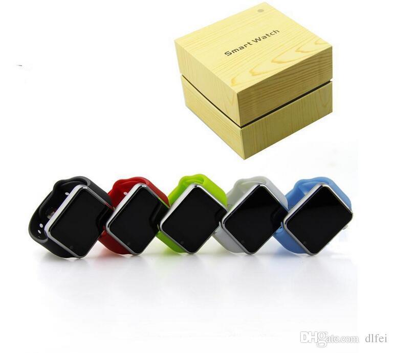 A1 smartwatch Montres intelligentes Bas Prix Bluetooth Wearable Hommes Femmes Montre Intelligente Mobile avec Caméra pour Android Smartphone Smartwatch Caméra
