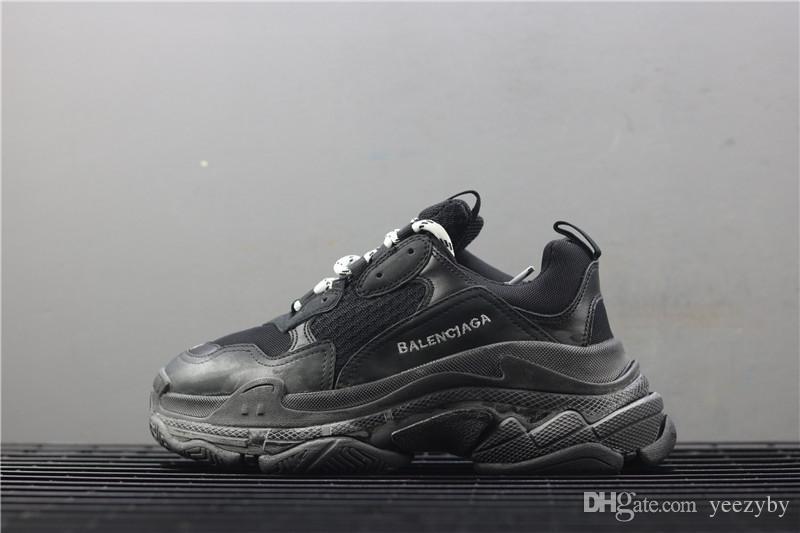 f8bb9166c201 2018 Hot!! Fashion Paris 17FW Triple-S Sneaker Triple S Casual ...