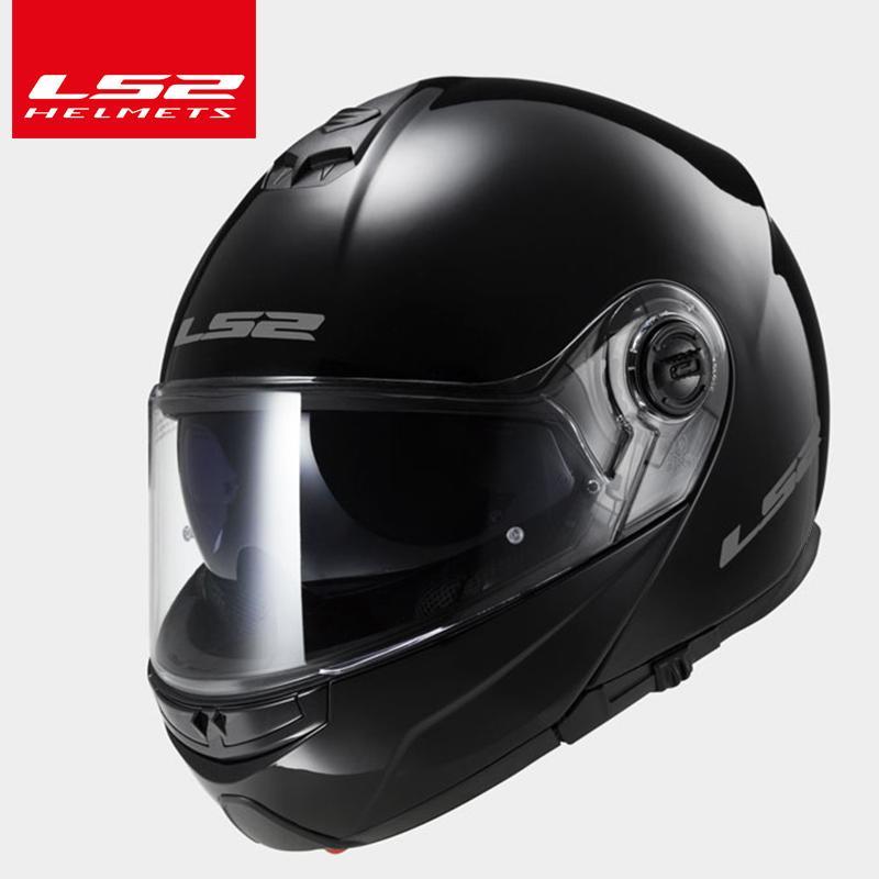 006e053e990 Original LS2 FF325 Flip Up Motocycle Helmet Double Sun Shield Lens Full  Face Helmet Moto Racing Helmets Discount Motorcycle Helmet Discount  Motorcycle ...
