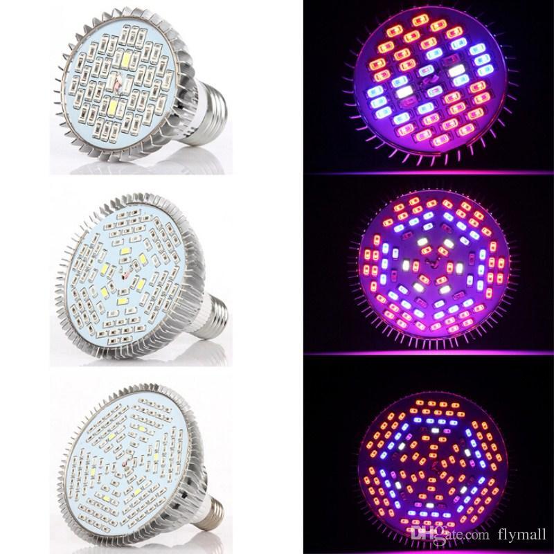 30 W 50 W 80 W PAR38 E27 LED Crece la Luz Crezca la Lámpara de bulbos para Plantas de Interior Jardín de Hidroponía Plantas de Efecto Completo AC 85-265 V