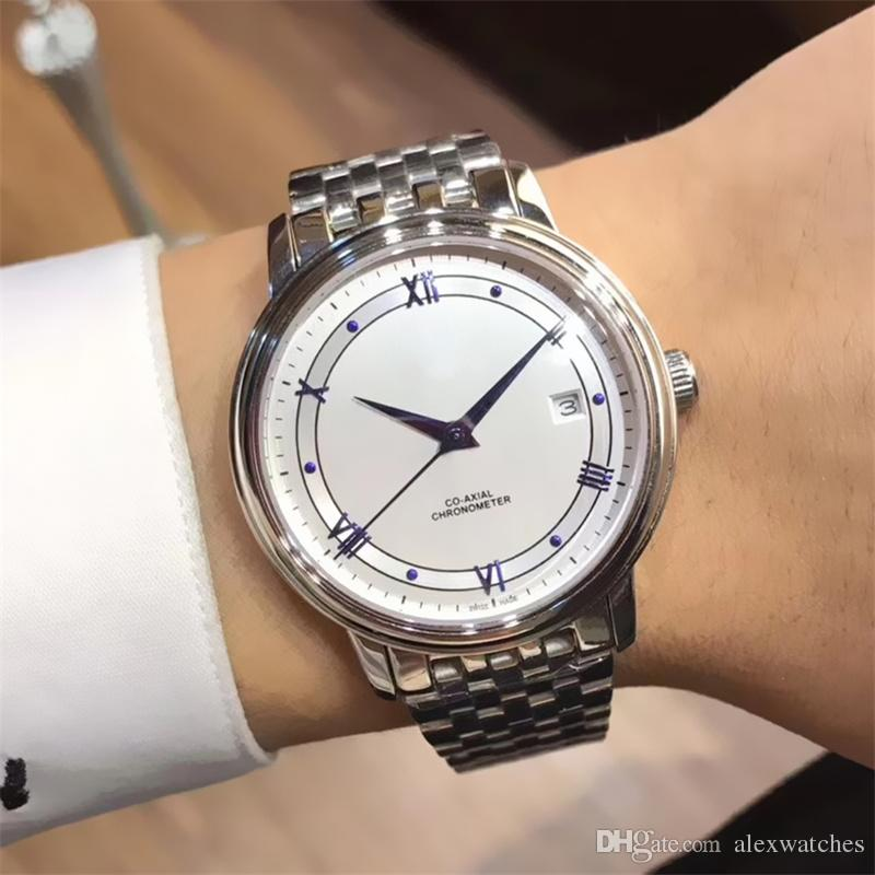 feb618eb8e9 Original Brand Silver Mens Watches 38mm Citizen Automatic Movement Men Watch  316L Stainless Steel Bracelet Sapphire Male Wristwatches O88 Buy A Watch  Online ...