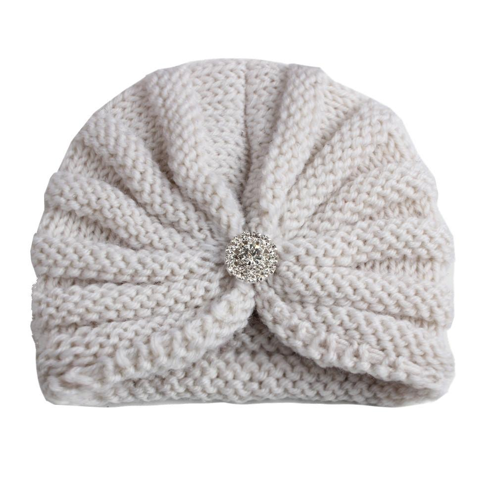 Compre 2018 Niños Sombreros Gorras Niñas Rhinestone Sombreros ...