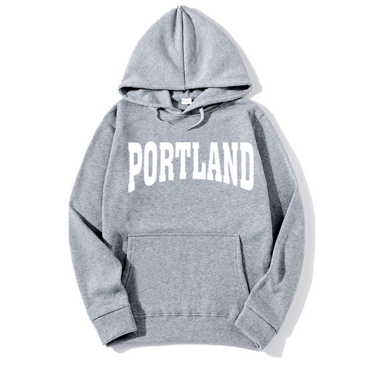 c37ed5ff 2019 2018 Brand New Fashion PORTLAND Men Sportswear Print Men Hoodies  Pullover Hip Hop Mens Tracksuit Sweatshirts Clothing M3 From Lxa4014, $6.1    DHgate.