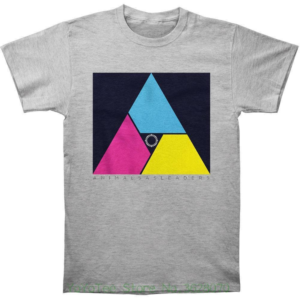 Men Cotton T Shirt Printed T Shirt Animals As Leaders Men    S Multicolor  Triangle T Shirt Large Grey Interesting T Shirts T Shirt Buy Online From  Amesion73 ... 9d285ba6c