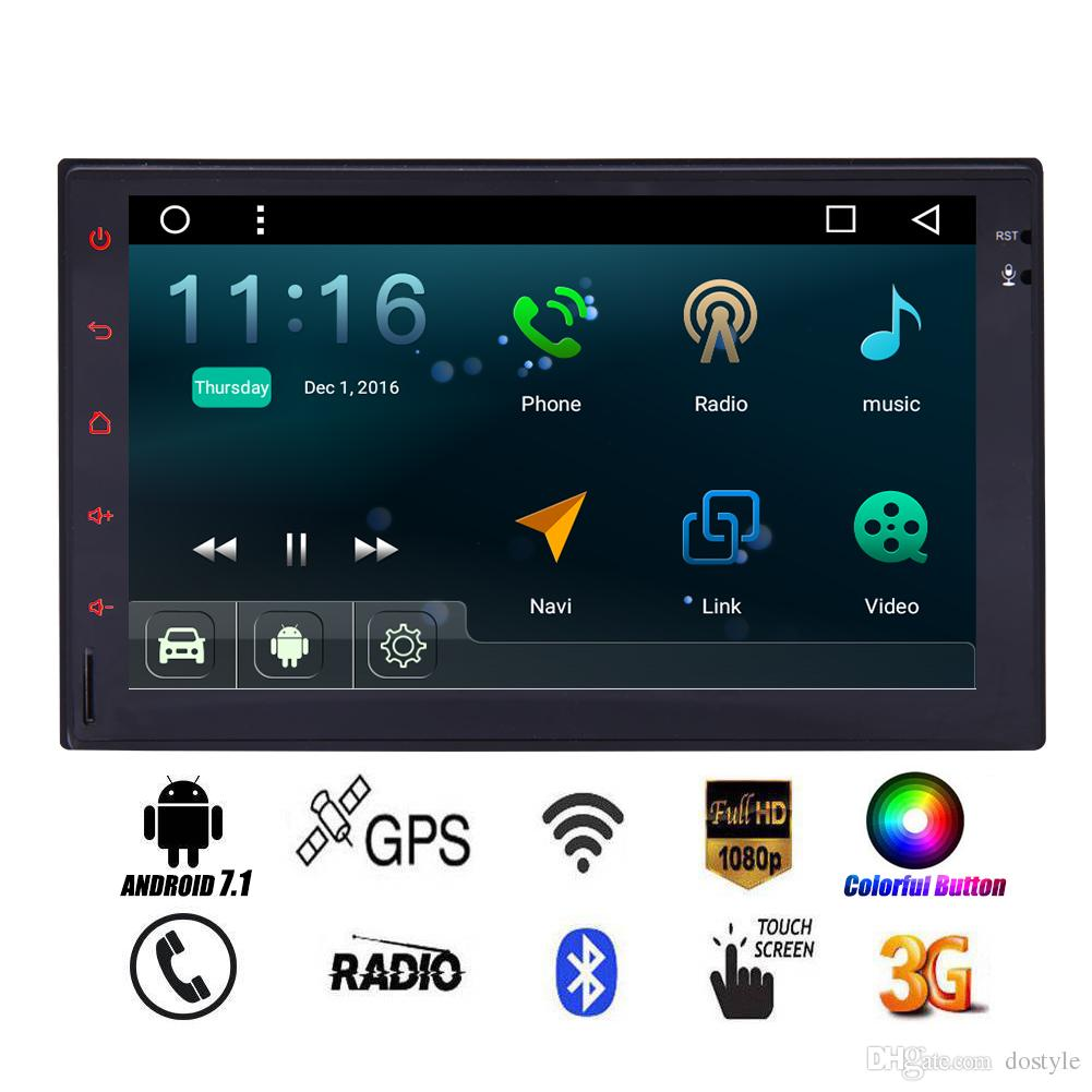 Android 7 1 Car Stereo 7 Double Din In Dash Car Radio Video Player