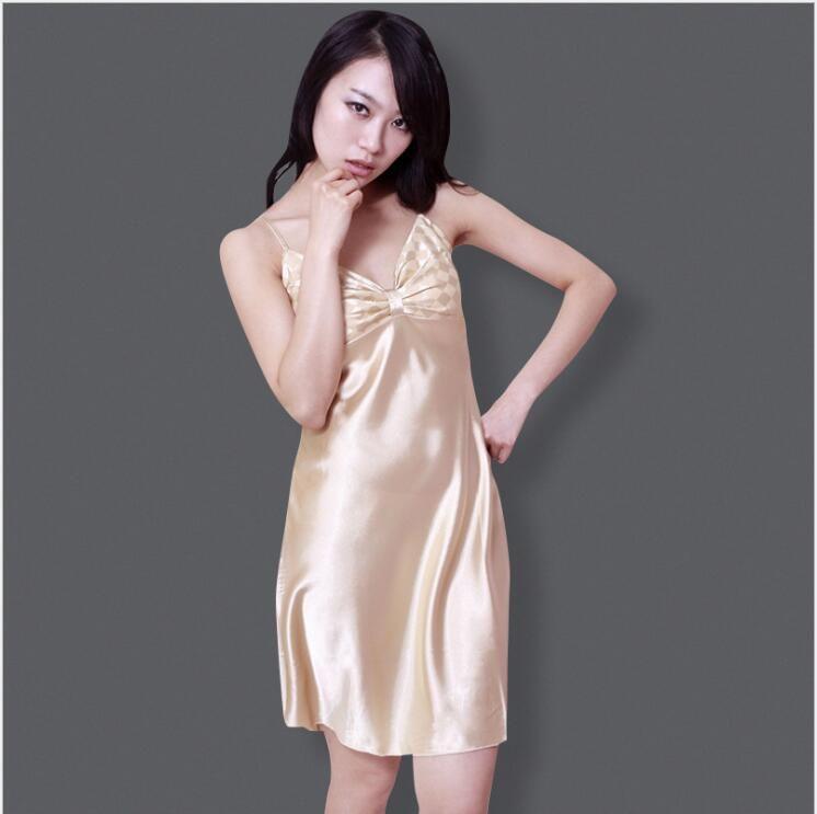 2018 Red Chinese Women\'S Satin Robe Bath Gown Hot Sale Kimono Yukata ...