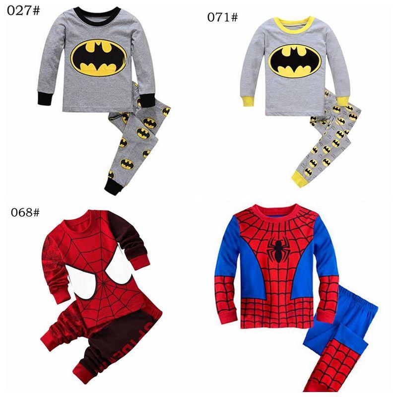 cf29db6d3 Compre Bebê Menina E Meninos Roupas Crianças Pijamas Define Sonhos Doces  Pijamas Bebê Meninos Meninas Dos Desenhos Animados De Manga Comprida T  Shirt + ...