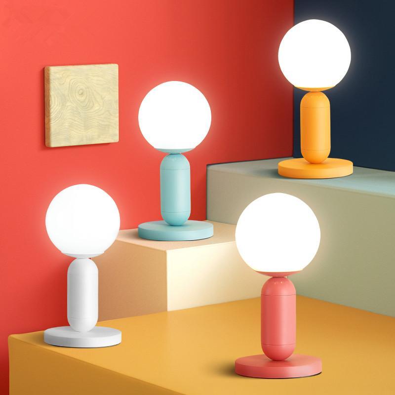 2019 Modern Table Lamp Bedside Lamp Maccaron Led Desk Lights Bedroom