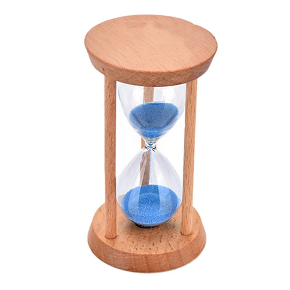 8cbca8a03ff Compre Crianças Escova De Cristal Ampulheta Temporizador De Bambu Areia  Colorida Standglass Temporizador De Areia 3 Minutos De Cozinha Relógio De  Casa ...