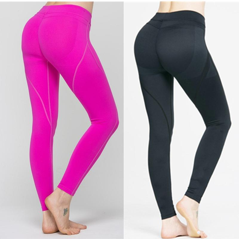 df6dff77e3046 2019 Yoga Pants Sport Tights Women Sports Clothing Maio Fitness Aerobic  Clothes Running Tights Women Yoga Leggings Wear Pink 2017 From Sunnystars,  ...