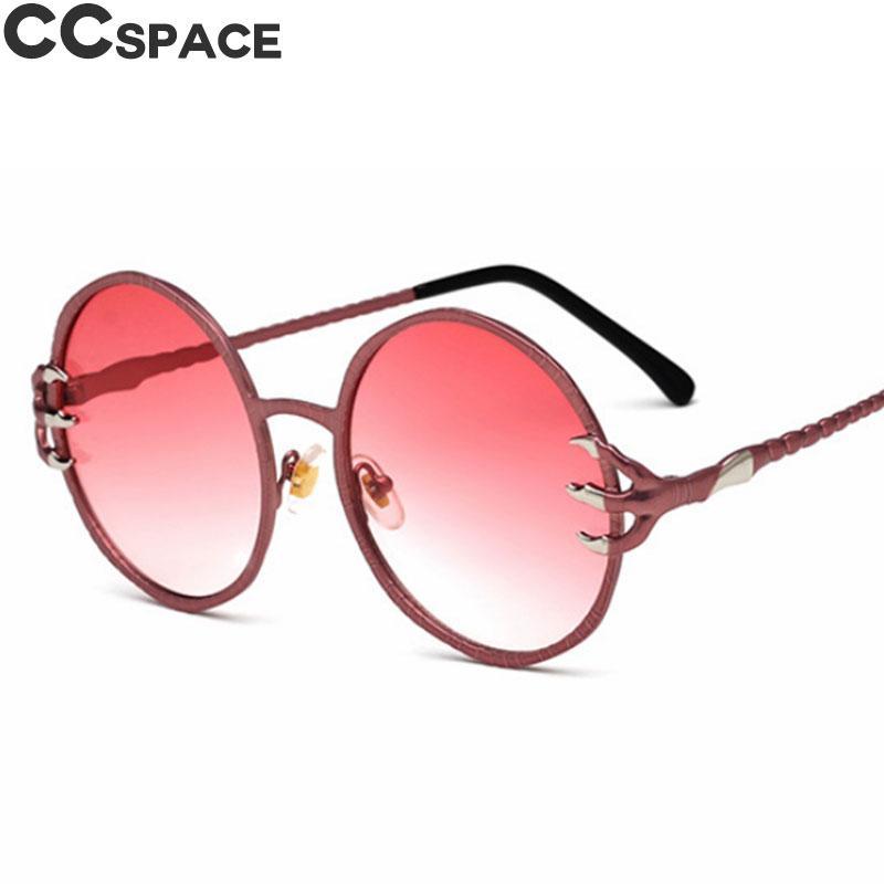 Compre Vermelho Redondo Retro Punk Óculos De Sol Dos Homens Das Mulheres  Moda Shades UV400 Óculos Vintage Oculos 47887 De Dujuanflower,  15.83    Pt.Dhgate. f43e386863