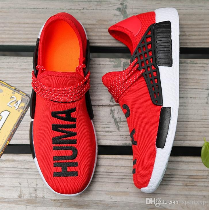 Top Sale Women Casual Trainers Shoes Pharrell Williams Human RACE HU NMD  Trail Mens Designer Sports Running Shoes For Men Sneakers A259 UK 2019 From  ... 7373d00b8