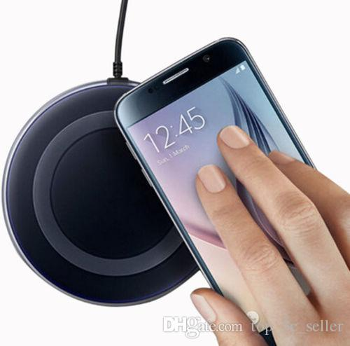 the latest 0ed31 2c1aa Qi Wireless Fast Charger Dock Charging Pad+Receiver for iPhone 7 Plus, For  Samsung Note Galaxy S6 Edge, HTC, LG
