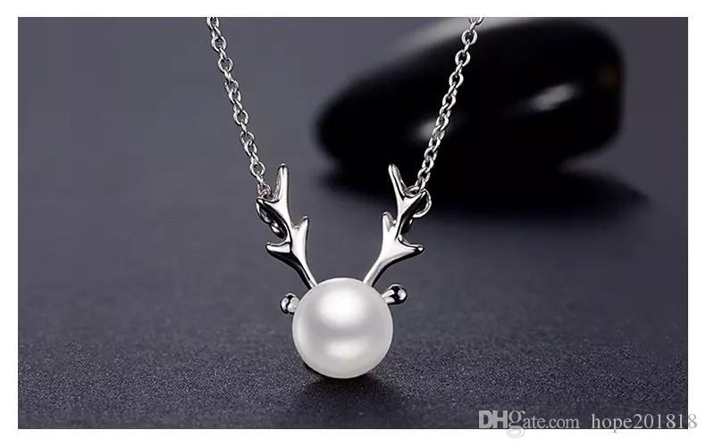 47b6388d2fe8 Compre Collar De Plata HOT S925 De Corea