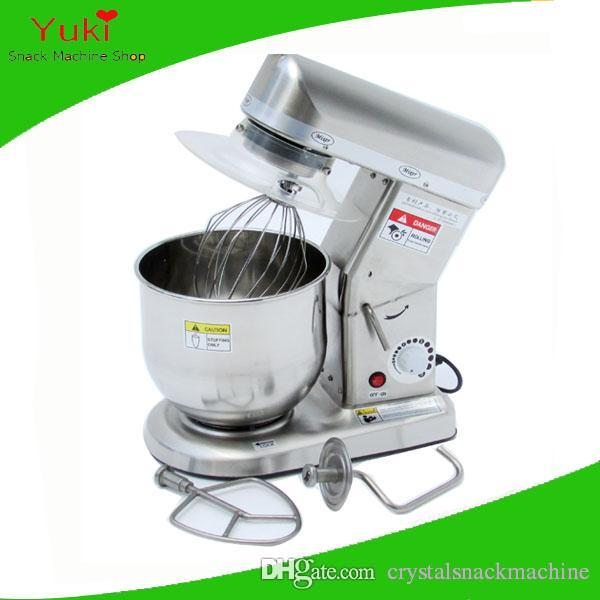 2018 220v commercial 7l multi function mixer dough kneading machine egg beater machine bread dough mixer stainless steel food blender from