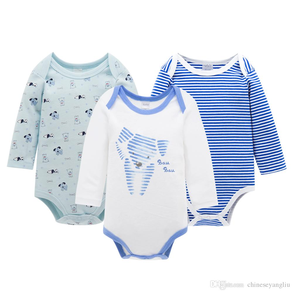 fd49a2d02 2019 Baby Romper Long Sleeve Jumpsuit / Set Spring Autumn Newborn Infant  Baby Unisex Clothes Babies Rompers From Chineseyangliu, $9.05   DHgate.Com