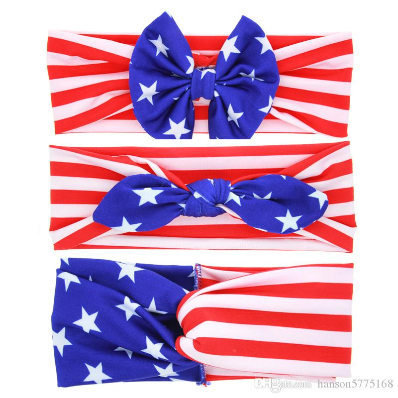 Patriotic Boutique 4th of July Hair Bow Headband Independence Day Hair  Barrettes American Flag Bows For Girl 4th of July Hair Bow Hair Barrettes  Boutique ... 00f3d1f3197a