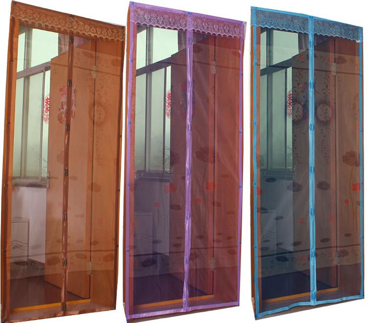 Summer Mosquito Curtain Picture Printing Screen Door Mosquito Net