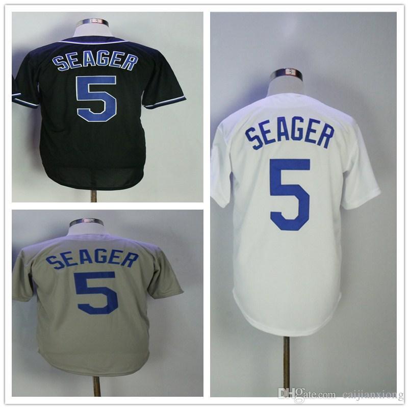 online store 50b34 b0f73 greece corey seager grey jersey 61852 3615e