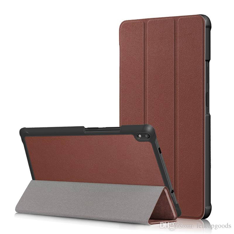 PU Leather Flip Stand Case for Lenovo tab 4 8 TB-8504F TB-8504N Tab 4 8 Plus TB-8704F TB-8704N Tablet