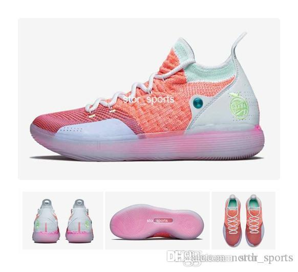 b0bc3fd4d11 2018 New KD 11 EYBL Mens Basketball Shoes
