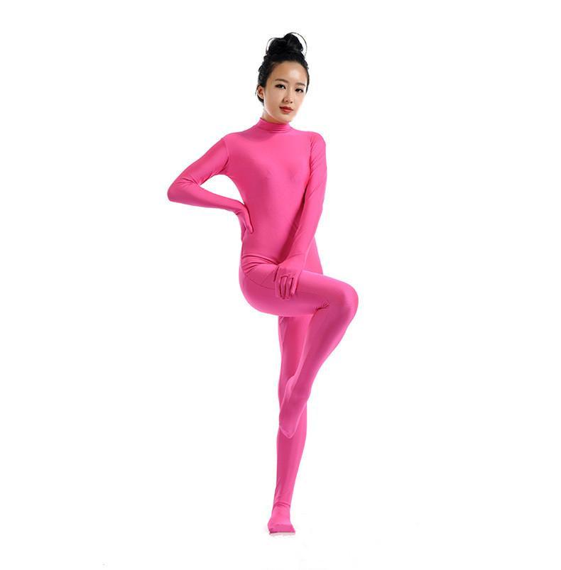 Acheter SWH010 Rose Rose Spandex Complet Body Tight Combinaison Zentai  Costume Body Costume Pour Femmes   Hommes Unitard Lycra Dancewear De  58.37  Du ... 0de8c375ebf