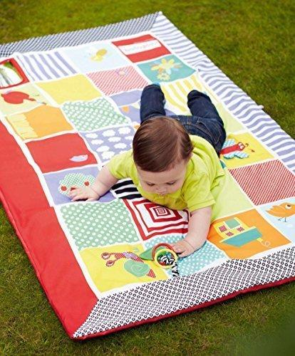 Baby Care Play Mat, Gamepad Crawling Mat Newborn Game Blanket