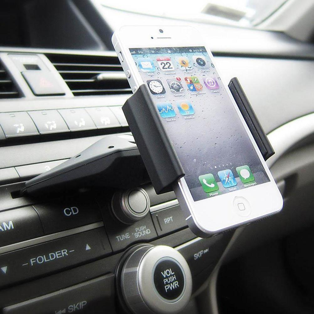 universal car auto cd slot mount cradle holder stand for mobile