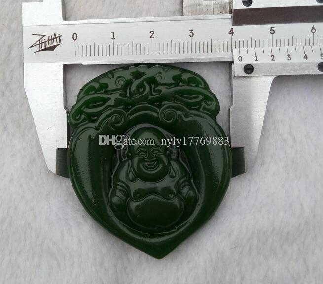 Chinas Xinjiang Hotan Jade Buddha Anhänger sichere Lieferung kostenlos V1