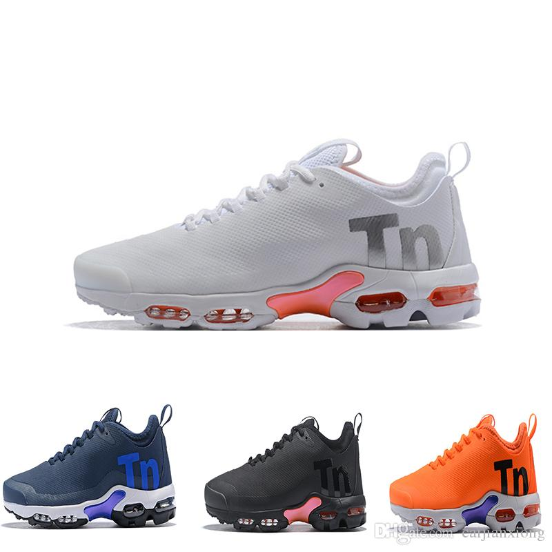 purchase cheap 59594 c10c6 Acheter 2019 Tn Plus Hommes Femmes Mercurial Ultra SE Noir Blanc Orange  Desinger Chaussures De Course Femmes Baskets Sport Baskets De  83.86 Du  Caijianxiong ...