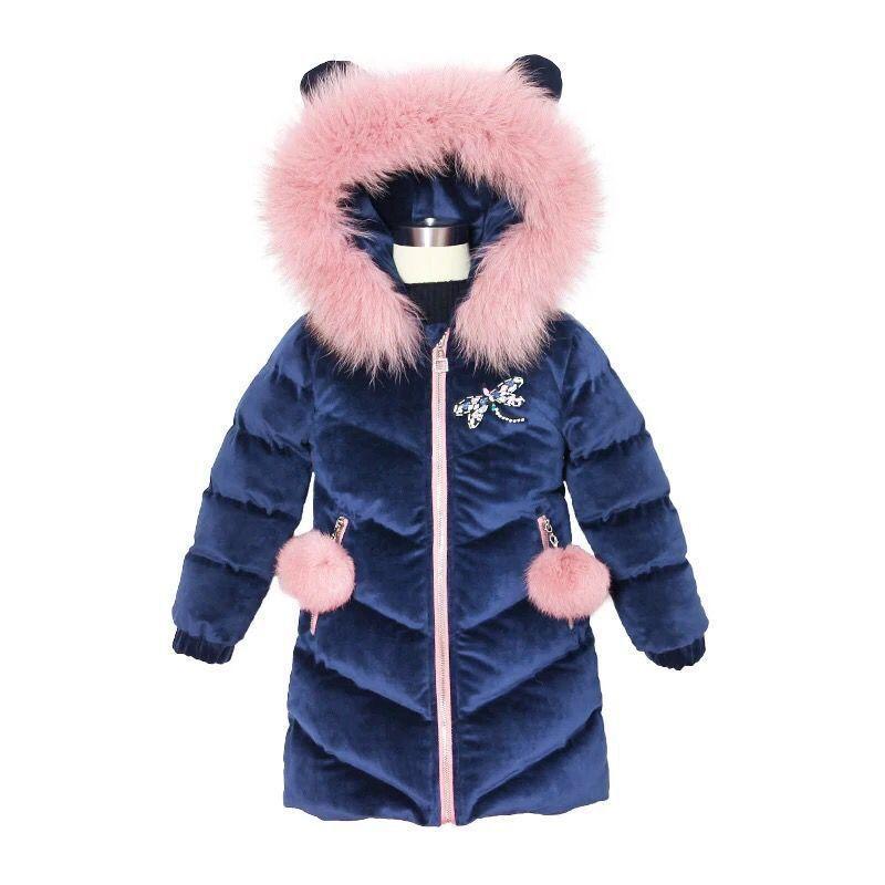 Acquista JKP Abbigliamento Bambini Ragazze Inverno Giacca Di Cotone Spesso 2018  Nuova Moda Oro Velluto Colore Solido Abbigliamento Bambini MF 181 A  54.24  ... 4d7d8d35de5