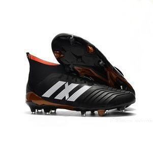 Predator 18+ FG Football Boots Cheap Men Soccer Shoes Laceless ... dc0adbd9f