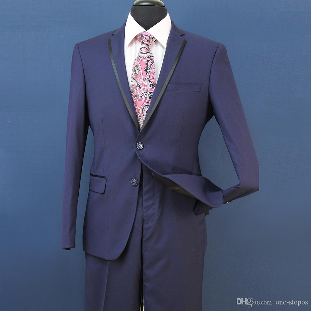 Slim Fit Groom Tuxedos Groomsmen Light Grey Side Vent Wedding Wedding Best Man Suit Trajes de hombre 3 piezas chaqueta + chaleco + pantalones ST008