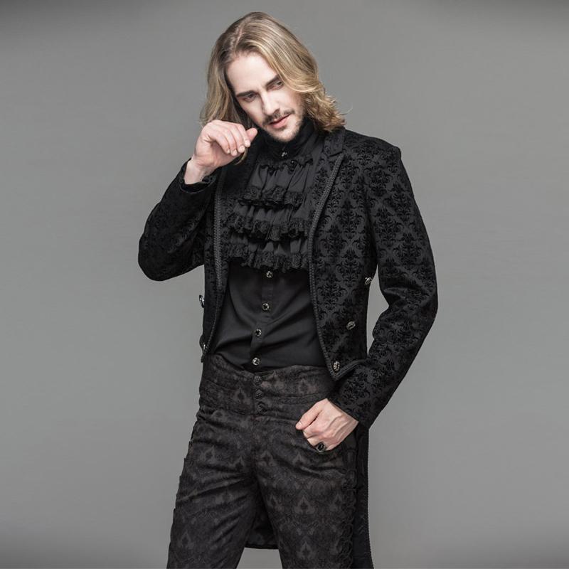506f9c39b Devil Fashion Gothic Black Men Dress Jacket Coat Steampunk Gentlemen Open  Stitch Long Jacket Trench Evening Party Jackets A Jacket Buy Jacket From  Wengjuan, ...