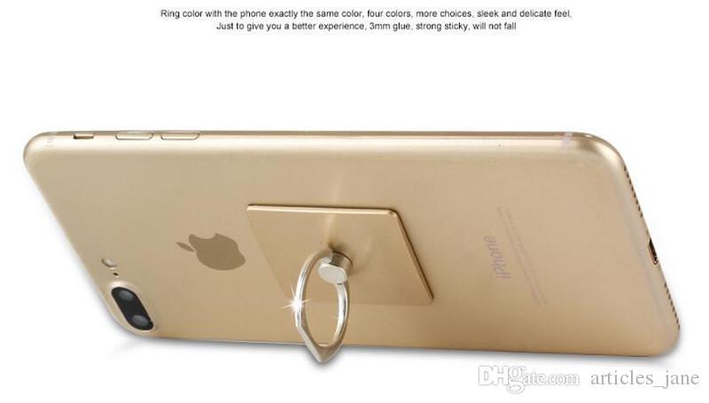 Kreative Telefon Ring Halter Cartoon Bär Kopf Handy Stand hohe Haftkraft gute Qualität Abbildung Ring Auto Halterung