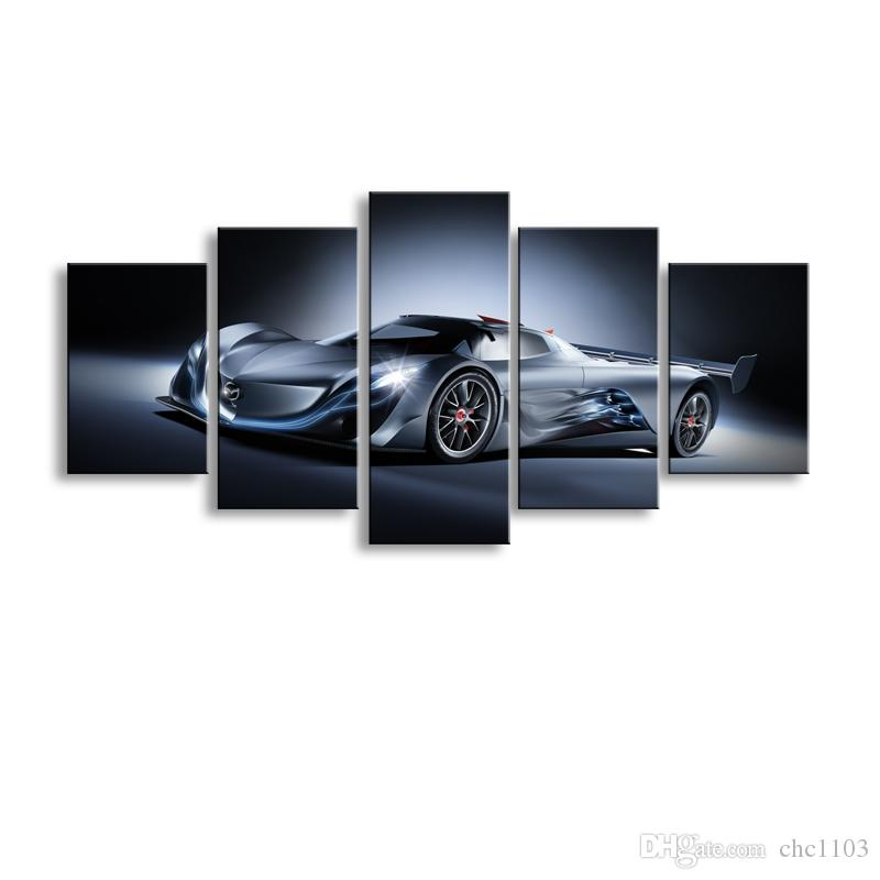 Painting & calligraphy World famous car canvas poster art painting living room restaurant Bedroom Decorative paintings C5-056