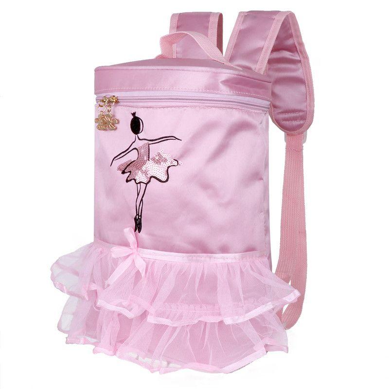 Kids Girls Adorable Ballet Dance Bag Embroidered Ballerina Dancing Tiered  Ruffled Tutu Bag Backpack Gym Bags Cheap Gym Bags Kids Girls Adorable  Ballet Dance ... 1ea004f591a80