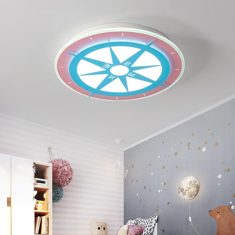 Großhandel Kinderzimmer Rund LED Deckenleuchte Schlafzimmer Licht ...