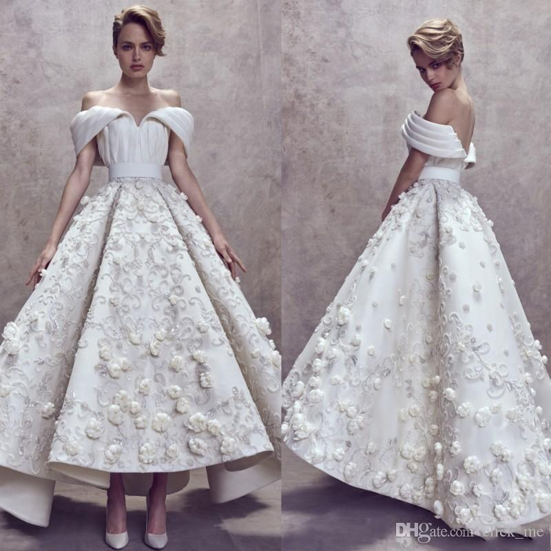 Ashi Studio High Low Prom Dresses Custom Made Fully 3d Floral ...