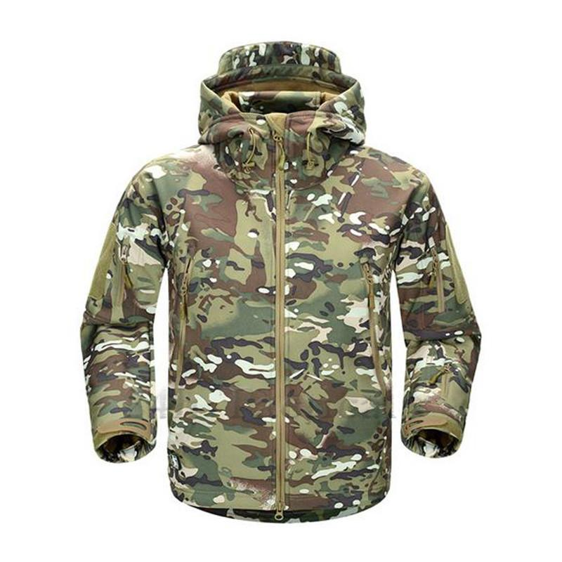 TAD V4.0 Camouflage Jacket Lurker Shark Skin Soft Shell Tactical Waterproof Windproof Sports Jacket Hunting Gear Multicam