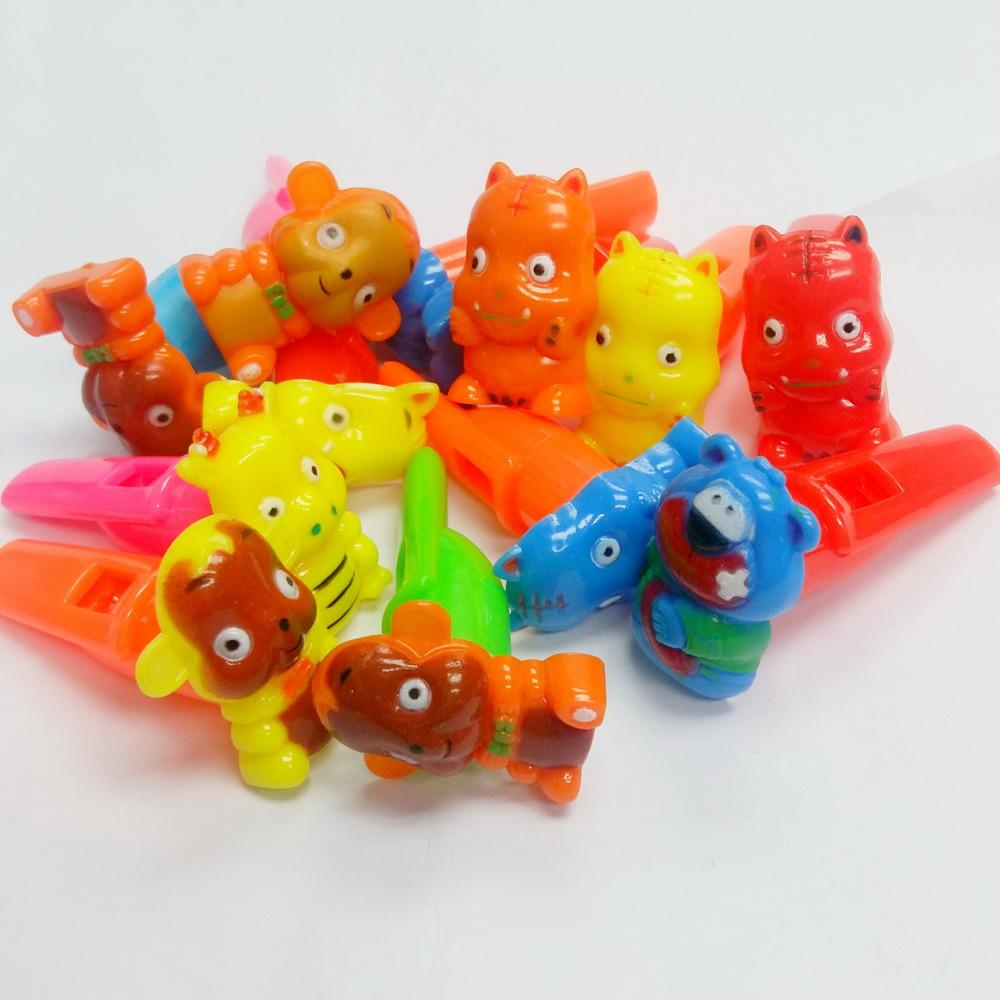6 pc E304 animal Whistle Noise Sound Maker Pinata Loot Party Bag Fillers  Kid Novelty Ideal Birthday Game Gift Favors Toys Prize